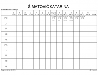 ŠIMATOVIĆ KATARINA