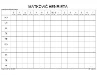 MATKOVIĆ HENRIETA