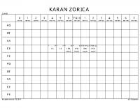 KARAN ZORICA