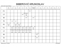 BIBEROVIĆ KRUNOSLAV